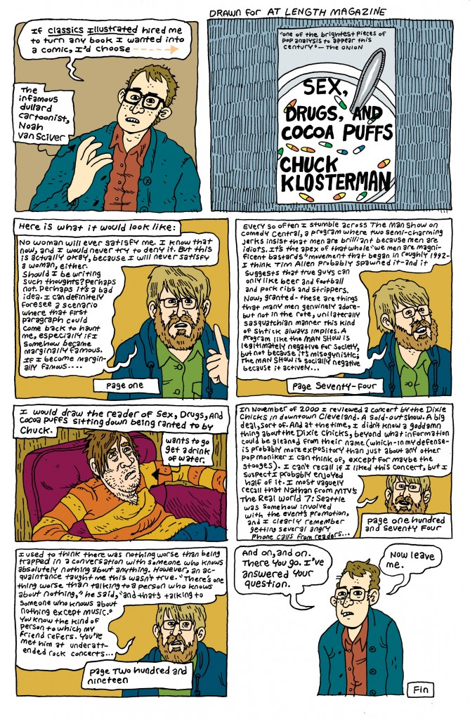 SEX, DRUGS, AND COCOA PUFFS by Noah Van Sciver